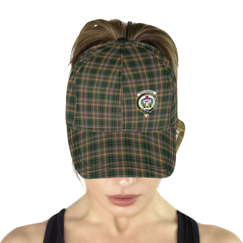 Buchanan Hunting Clan Badge Tartan Dad Cap - BN03