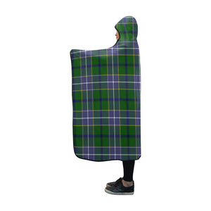 Wishart Hunting Tartan Hooded Blanket - BN