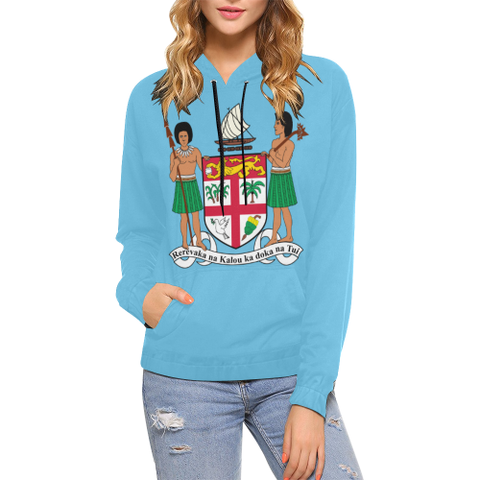 Coat Of Arm Of Fiji Hoodie