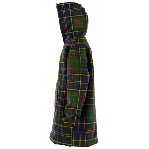 Image of MacMillan Hunting Modern Snug Hoodie - Unisex Tartan Plaid Left