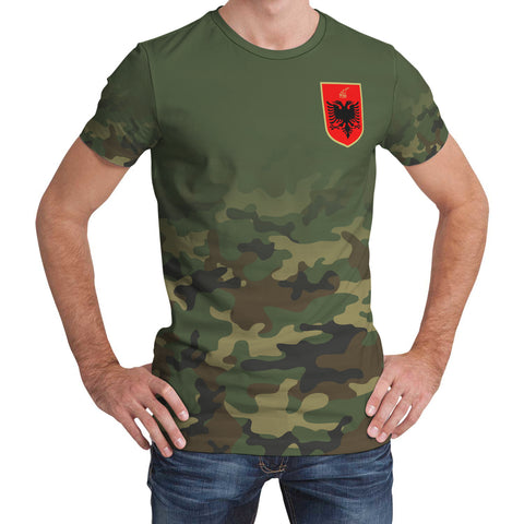 Albania T-Shirt Camo (Women's/Men's) A7
