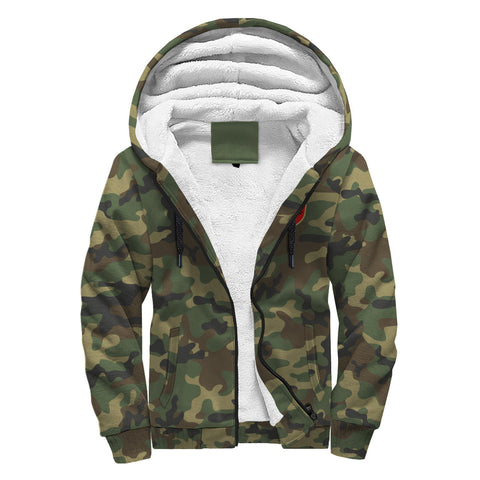 Image of Albania Sherpa Hoodie Camo (Women's/Men's) A7