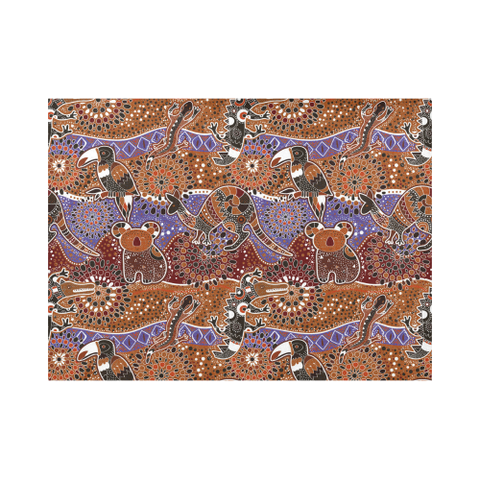 Image of Australia Bohemian Placemat NN6