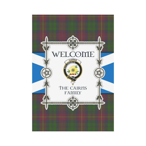 Cairns Tartan Garden Flag - New Version K7 |Home Decor| 1sttheworld