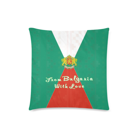 Image of Love The World | Bulgaria Pillow Case - Bulgaria Flag | Special Custom Design
