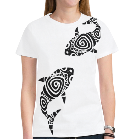 Hawaii T-shirt - White t shirt - t-shirt women - t-shirt men