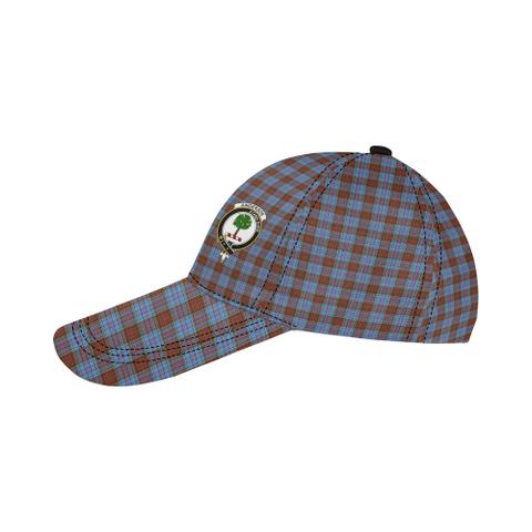Anderson Modern Clan Badge Tartan Dad Cap - BN03
