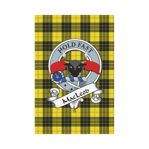 Image of Macleod Tartan Flag Clan Badge K9 |Home Decor| 1sttheworld