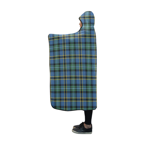 Weir Ancient Tartan Hooded Blanket - BN