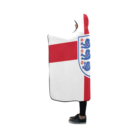 Image of England World Cup Hooded Blanket 01 - Bn03 | Love The World