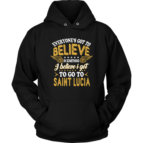 Image of Go To Saint Lucia T Shirt K4