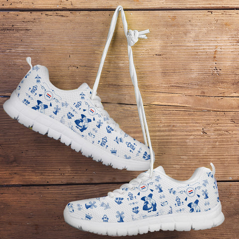 THE NETHERLANDS Symbols White Sneakers | Love The World