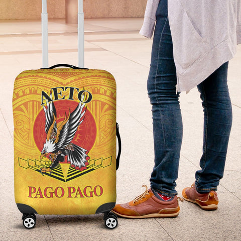 Image of American Samoa Luggage Covers - Pago Pago Aeto (Ver 2) - BN26