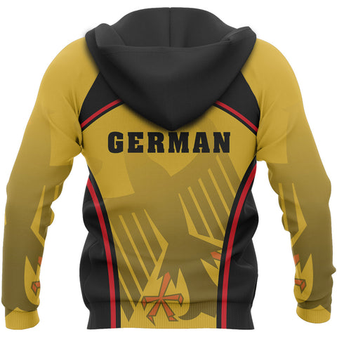 Germany Coat Of Arms Hoodie - Sport Style - J2