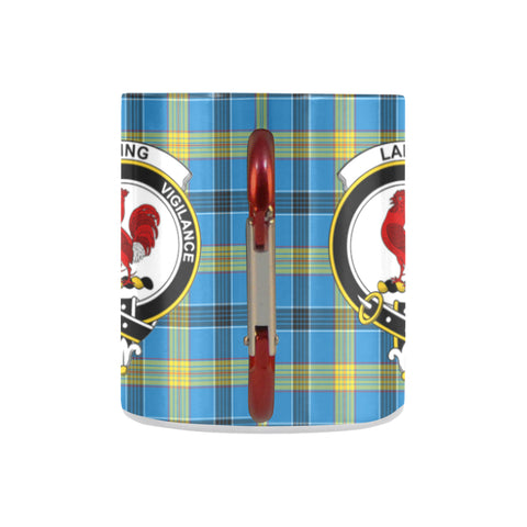 Image of Tartan Mug - Clan Laing Tartan Insulated Mug A9 | Love The World