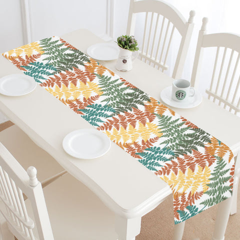 New Zealand Table Runner - Silver Fern 04 A2