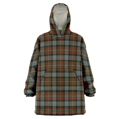 Fergusson Weathered Snug Hoodie - Unisex Tartan Plaid Front