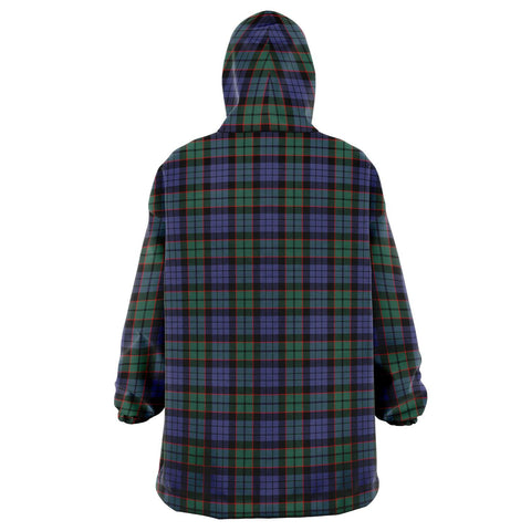 Image of Fletcher Modern Snug Hoodie - Unisex Tartan Plaid Back