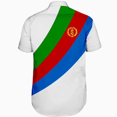 Image of Eritrea Short Sleeve Shirt - Special Flag A7