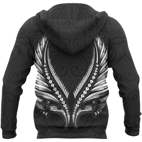 Aotearoa New Zealand - Maori Fern Tattoo Hoodie | Clothing, Apparel, Women, Men