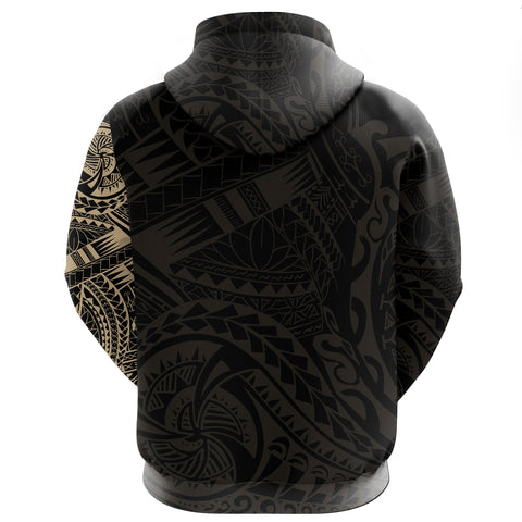 Image of Kanana Zipper Hoodie Tattoo Style Version 2.0 A7