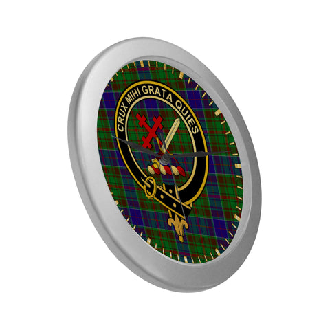 Image of ADAM CLAN TARTAN WALL CLOCK A9