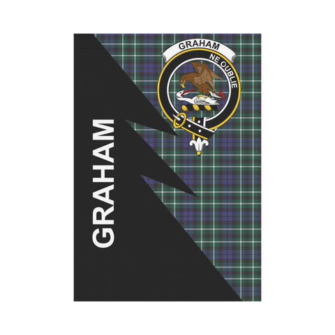 "Image of Graham Tartan Garden Flag - Flash Style 28"" x 40"""
