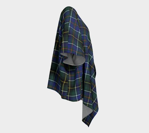 Macinnes Modern Tartan Draped Kimono - Bn04 |Women's Clothing| 1sttheworld