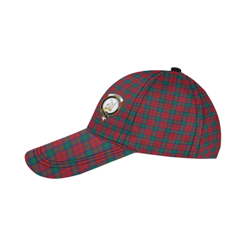 Image of Lindsay Modern Clan Badge Tartan Dad Cap - BN03