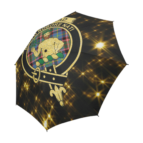 Aikenhead Tartan Umbrella Golden Star