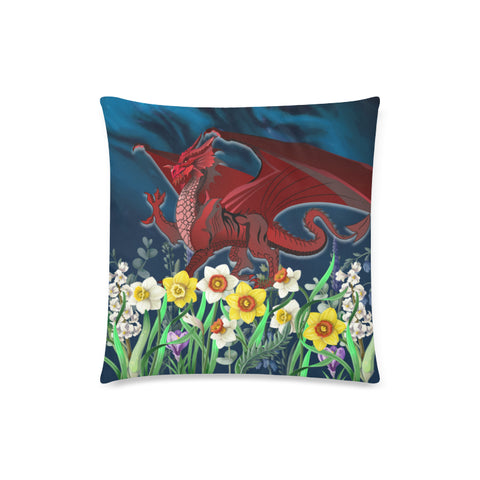 Image of Welsh  Pillow Cases - Dragon Daffodil | Home Set | Love The World