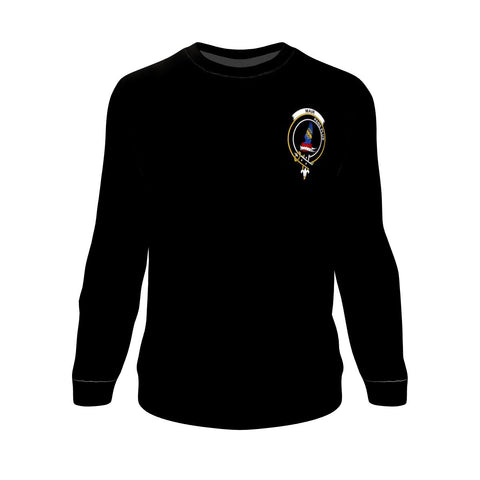 Mar Tartan Sweatshirt In Me Clan Badge
