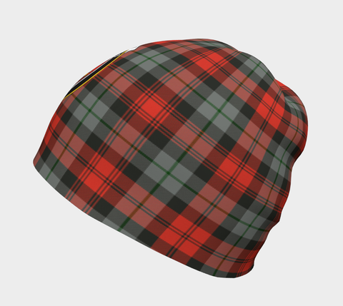 Image of MacLachlan Weathered Tartan Clan Crest Beanie Hj4