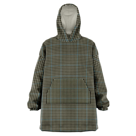 Image of Haig Check Snug Hoodie - Unisex Tartan Plaid Front