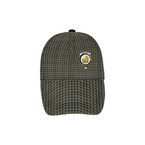 Campbell Argyll Weathered Clan Badge Tartan Dad Cap - BN03