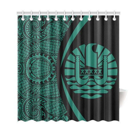 Tahiti Polynesian Shower Curtain
