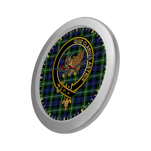 BAILLIE CLAN TARTAN WALL CLOCK A9