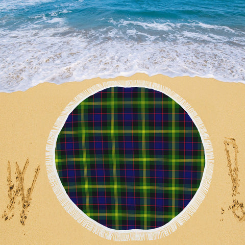 Image of WATSON MODERN TARTAN BEACH BLANKET th8