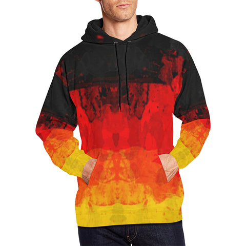 GERMANY 01 FLAG  ALL OVER PRINT HOODIE A1