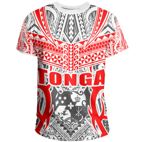 Image of Tonga T-shirt - Kingdom of Tonga Tee - White Ver J0