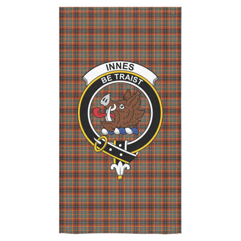 Image of Innes Ancient Tartan Towel Clan Badge NN5