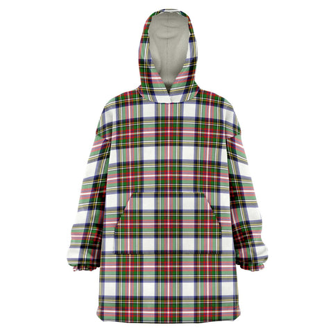 Stewart Dress Modern Snug Hoodie - Unisex Tartan Plaid Front
