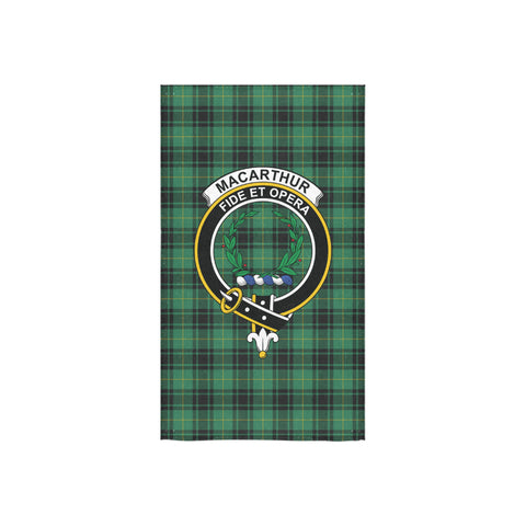 MacArthur Ancient Tartan Towel Clan Badge NN5
