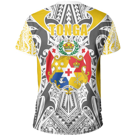 Image of Tonga T-shirt - Kingdom of Tonga Tee - Gold Ver J0