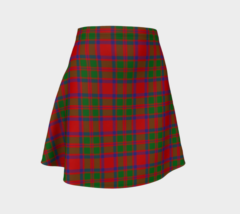 Tartan Skirt - Mackintosh Modern Women Flared Skirt A9 |Clothing| 1sttheworld