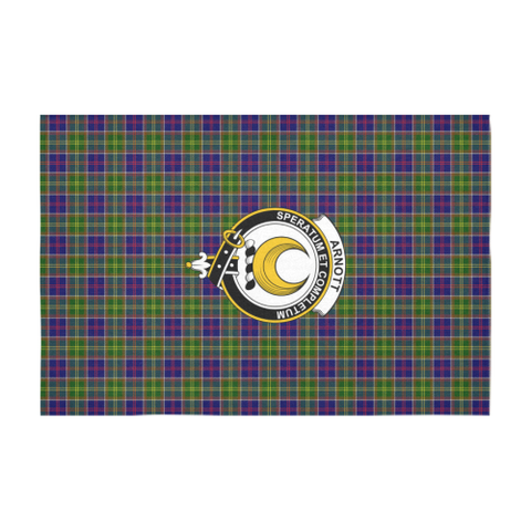 Arnott Crest Tartan Tablecloth | Home Decor