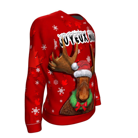 Image of Canada Hoodie - Christmas Moose A02
