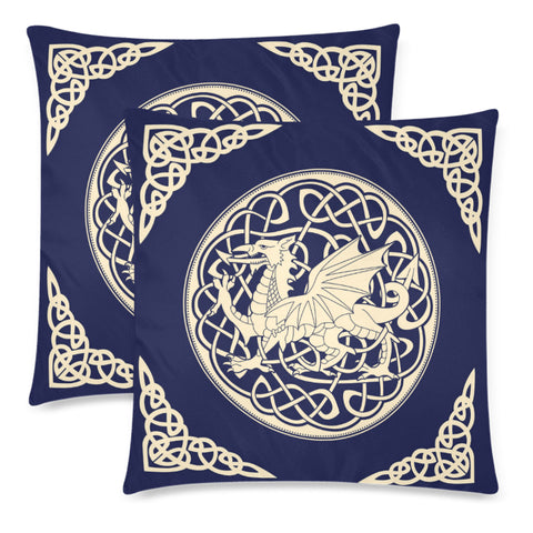 Image of WELSH DRAGON PILLOW CASE - BN02