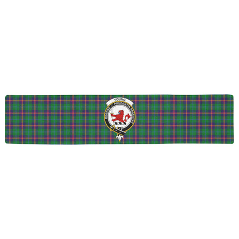 Image of Young Modern Tartan Table Runner - BN