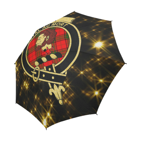 Adair Tartan Umbrella Golden Star